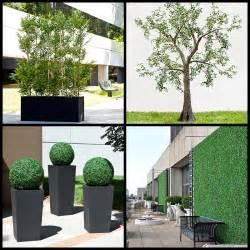 artificial outdoor plants artificial hedges outdoor fake