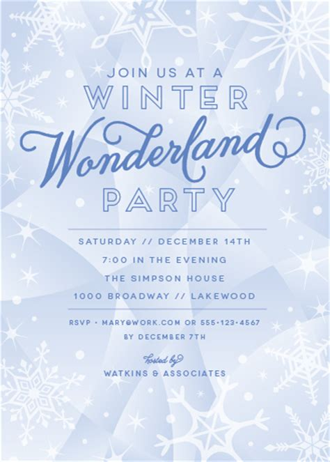 party invitations winter wonderland at minted com