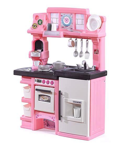 cocina niña cocina para ni 241 a luces y sonido rosa con accesorios step 2
