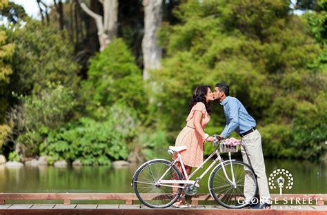 San Francisco Botanical Garden Society San Francisco Botanical Garden Society Engagement Photography George Photo