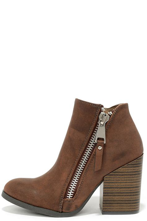 brown high heel booties high heel booties ankle boots brown boots 41 00