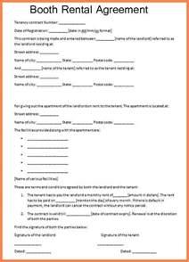 4 sample booth rental agreement hair salon purchase