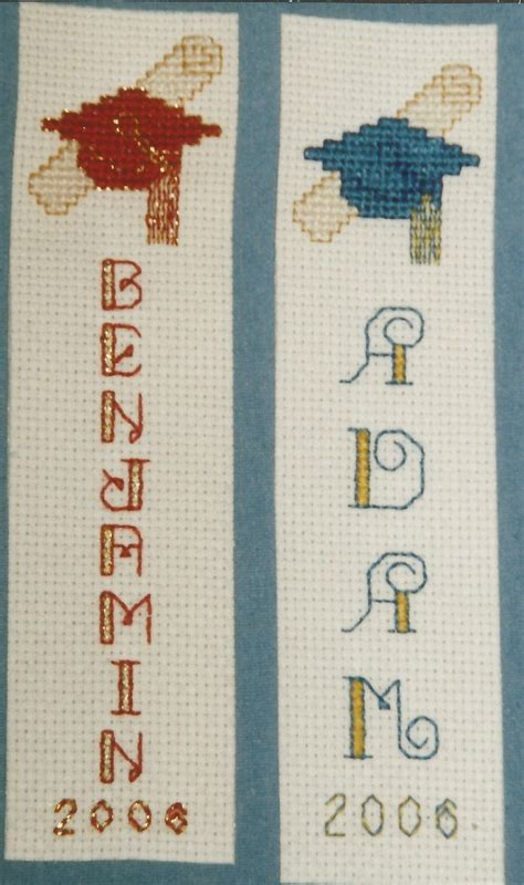 printable graduation bookmarks 96 best images about cross stitch graduation on pinterest