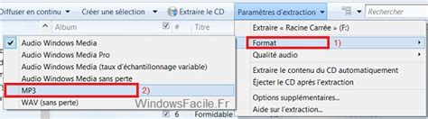 format extraction cd windows 8 convertir un cd audio en fichiers mp3