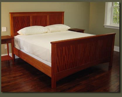 Handmade Beds - ribbon mahogany king bed handmade mahogany bedroom