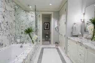 white marble bathroom feature image