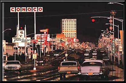 conoco gas station | electric art picture