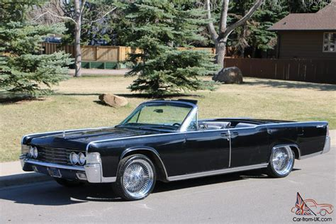 1965 lincoln continental convertible for sale black lincoln continental convertible