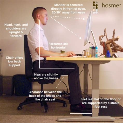 ergonomic work desk setup ergonomic desk setup diagram best home
