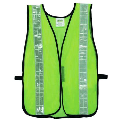 Green List Orange Size 42 cordova high visibility lime green mesh safety vest one