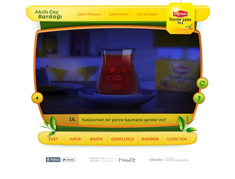 Lipton Akll Ay Barda On Behance | lipton akıllı 199 ay bardağı on behance