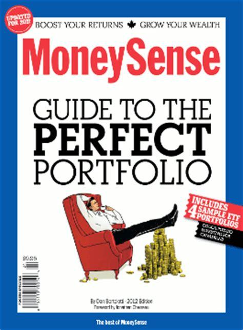 moneysense couch potato portfolio moneysense guide to the perfect portfolio book review