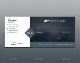 Gift Certificate Template Psd by Sle Gift Certificate Template 48 Documents