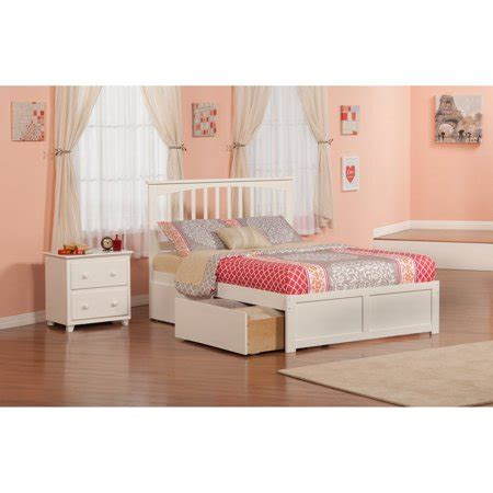 Walmart Bedroom Furniture by Atlantic Furniture Mission Bedroom Set Walmart