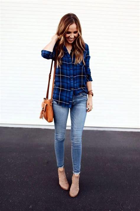 Casual Trend Alert Plaid Shirts Andjeans by Plaid Shirt And Oasis Fashion