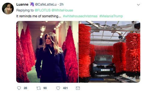 small christmas tree memes melania s blood trees mocked with memes plainview daily herald