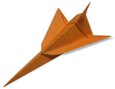 How To Make An Origami Jet - origami jet