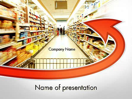 Grocery Shopping Powerpoint Template Backgrounds 11673 Poweredtemplate Com Ppt Templates For Shopping Free