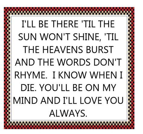 Wedding Song Always by Best 25 Wedding Song Lyrics Ideas On Elvis