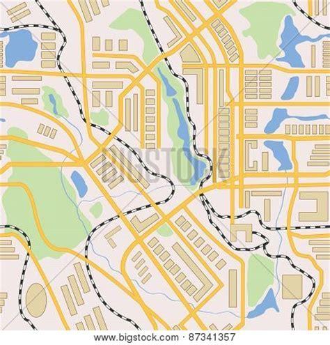 vector map generator city map generator seamless pattern stock vector stock