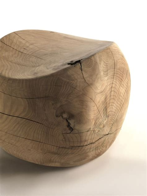 Solid Wood Stools by Ameda Solid Wood Stool By Benno Vinatzer