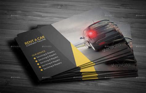 Car Rental Gift Card - rent a car business card by vejakakstudio graphicriver