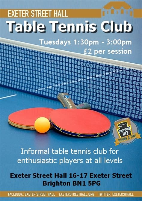 table tennis club table tennis club new time exeter