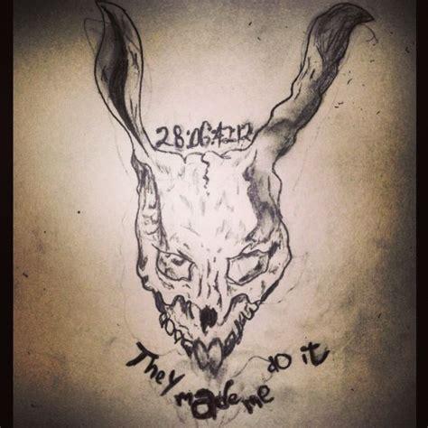 donnie darko numbers tattoo meaning pin donnie darko tattoo on pinterest