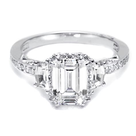 Different Engagement Rings by Emerald Cut Engagement Rings A Different Option