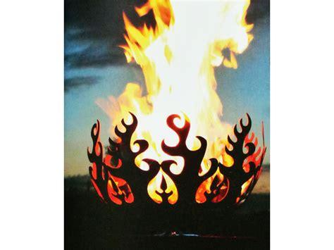 feuerschale feuerkorb au 223 ergew 246 hnliche feuerstelle aus robustem metall mit