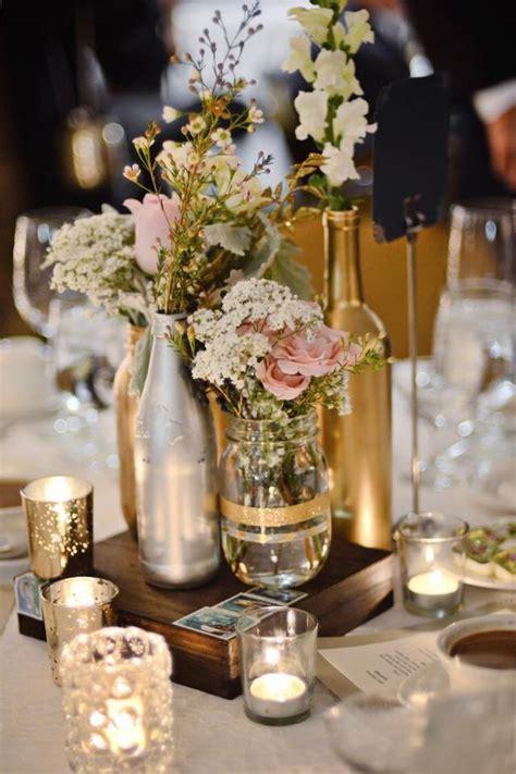 Decoraciones para bodas DIY con botellas de vidrio (3