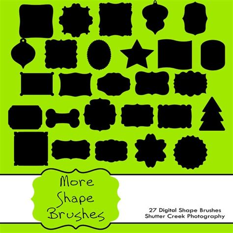shape pattern brushes photoshop 1000 images about photoshop brushes on pinterest