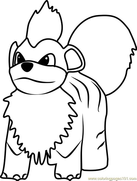 pokemon coloring pages growlithe growlithe pokemon go coloring page free pok 233 mon go