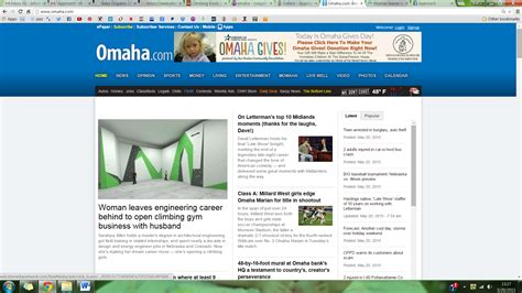 Omaha World Herald Living Section by Story In The World Herald Omaha Live Well Nebraska