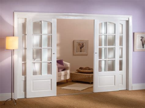 Glass Folding Wall Interior Sliding French Doors With Interior Glass Bifold Doors