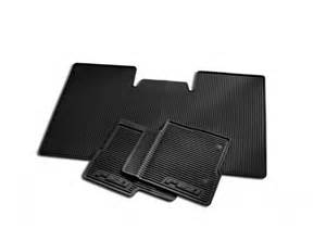 Floor Mats Ford F150 Floor Mats All Weather Thermoplastic Rubber Black 3 Pc