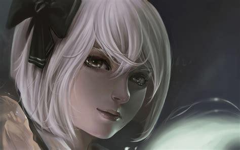 anime girl white hair wallpaper 1000 images about anime on pinterest anime girls anime