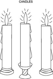 baptism candle template search results for light template printable