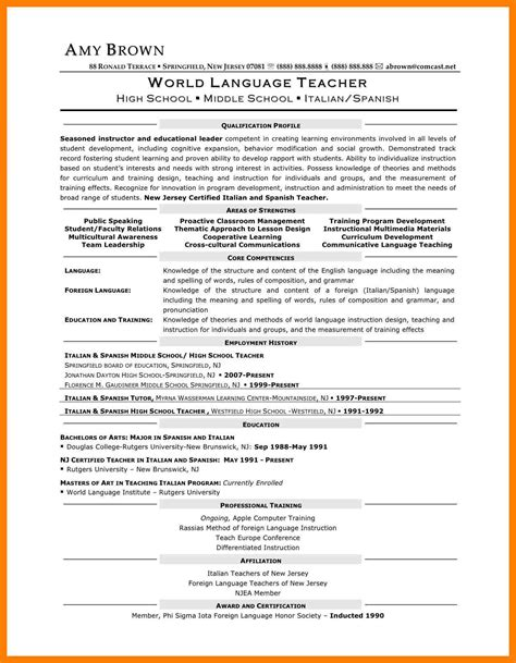second career resume exles 10 resume for second mla cover page