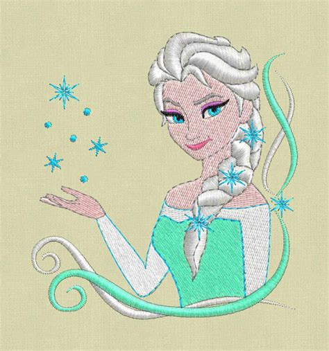 embroidery design elsa frozen elsa frozen embroidery design pes hus jef exp colour chart
