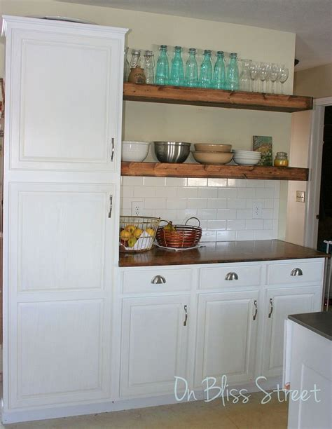 1000 images about kitchen shelf ideas on shoe display open kitchen shelving and hometalk awesome kitchen transformation for 1000