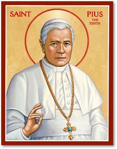 Discounted Home Decor men saint icons st pius x icon monastery icons