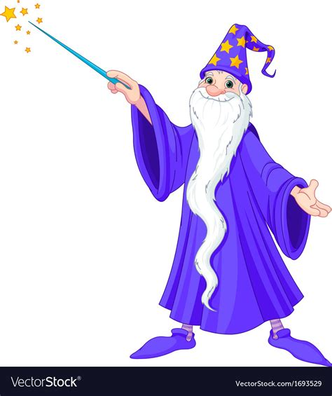 vector stock images wizard royalty free vector image vectorstock