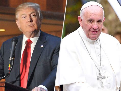trump pope francis donald trump calls pope francis wonderful guy following