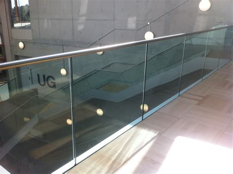 banister glass frameless glass balustrade morris fabrications ltd architectural metalworkers