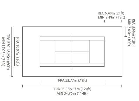 tennis court diagram with measurements best photos of sport court dimensions tennis court