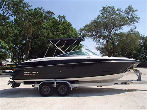 monterey boats for sale usa monterey 264 fs boat for sale from usa