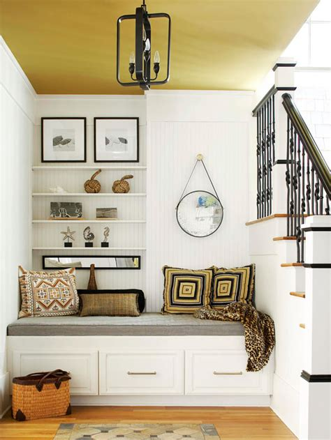 foyer nook ideas foyer nook cottage entrance foyer bhg