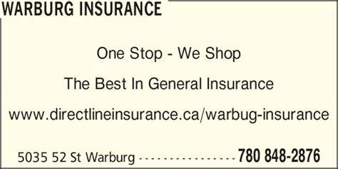 Warburg Insurance   Opening Hours   5035 52 St, Warburg, AB