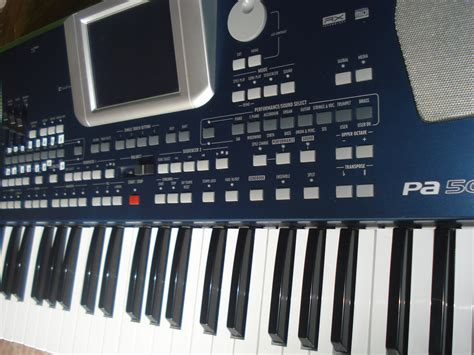 Keyboard Korg Pa 500 korg pa500 image 633543 audiofanzine